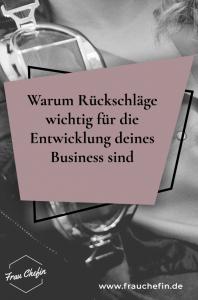 Rueckschlaege Business