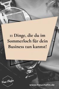 Sommerloch Business