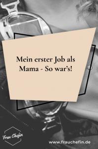 Job als Mama
