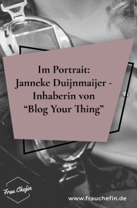 Janneke Blog Your Thing