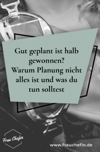 gut geplant