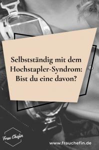 Hochstapler-Syndrom