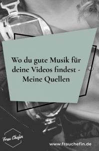 Musik für Videos finden