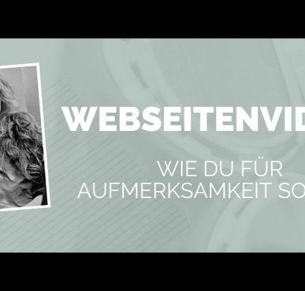 Mit Webseitenvideos für Aufmerksamkeit sorgen