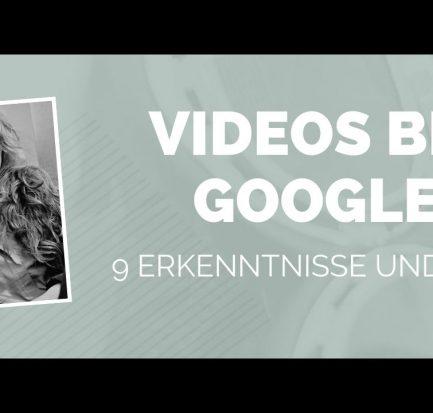 Videos bei Google